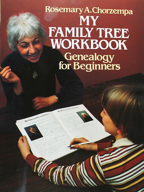 My Family Tree-Beginning Genealogy Workbook
