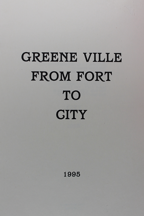 GreenVille From Fort to City
