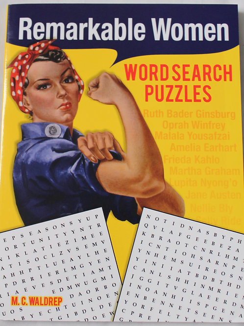 Remarkable Women Word Searches