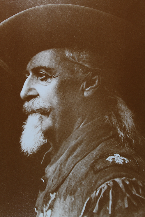 "Profile of William ""Buffalo Bill"" F. Cody"