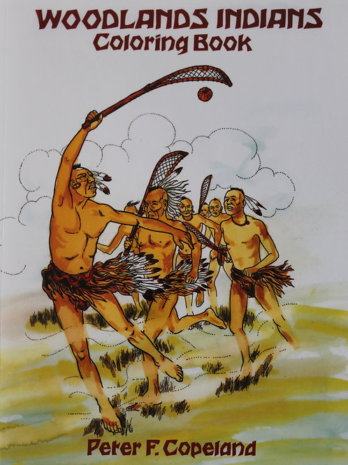 Woodland Indians Coloring Book