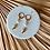 Thumbnail: SANTORIN | 24k vergoldete Hoop-Ohrringe