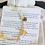 Thumbnail: HONEY | Armband mit Bernstein, Heilstein Citrin und wahlweise vergoldete Biene
