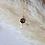 Thumbnail: Drittes Auge   18k vergoldete Kette mit Anhänger