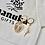 Thumbnail: FACES | 24k vergoldete Hoop-Ohrringe mit Edelstein