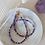 Thumbnail: CLEO   Choker aus Heilstein Amethyst mit 14k Gold-Filled Perlen