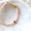 Thumbnail: ELIN | Armband aus Heilstein Sonnenstein (wasserfest)