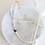 Thumbnail: MAYA   Choker aus Heilstein Mondstein mit Yin-Yang Perle