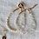 Thumbnail: KAMALA | Armband aus Süßwasserperlen und Bergkristall