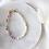 Armband Fairy aus bunten Glasperlen und Süßwasserperlen
