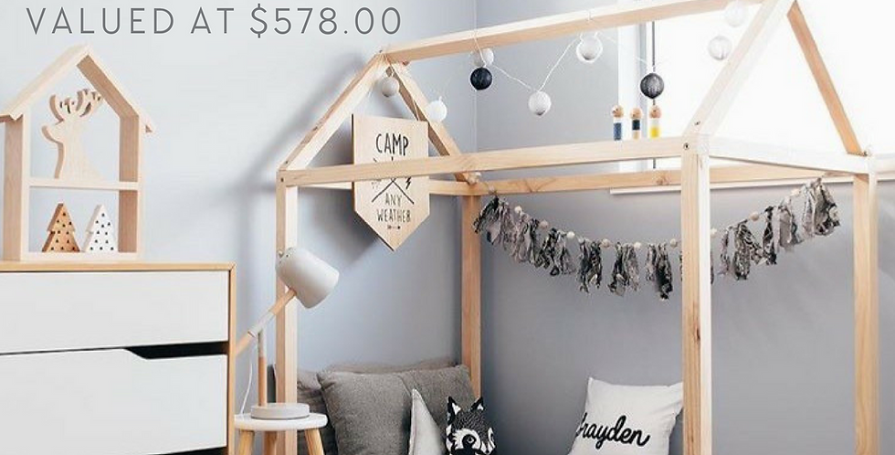 House Bed Giveaway