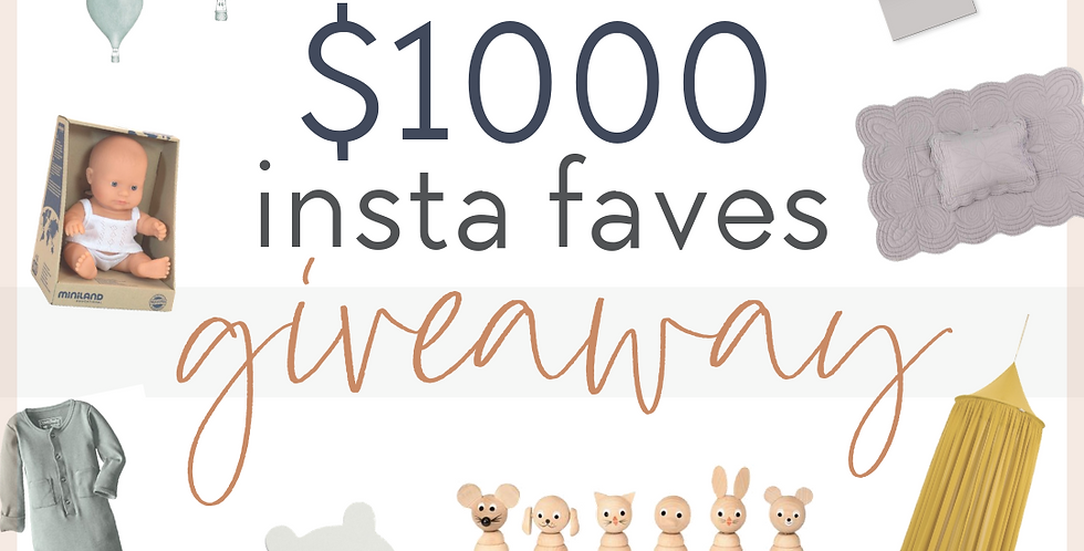 Insta Faves Giveaway