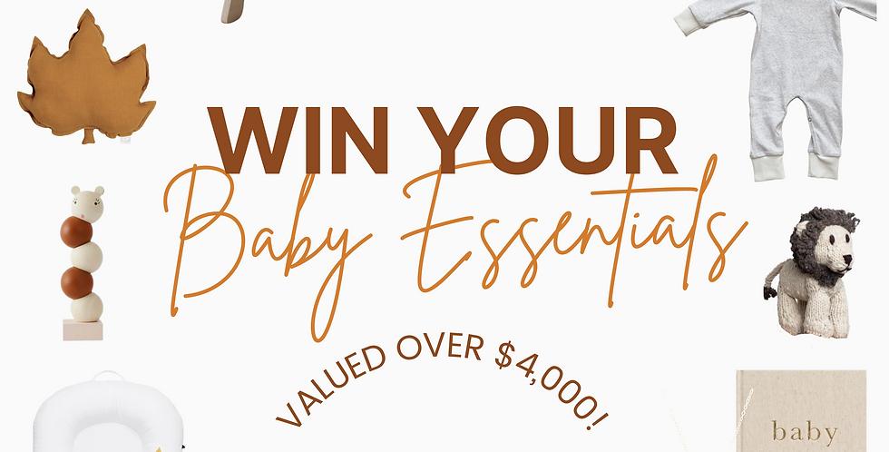 Win Your Baby Essentials Giveaway