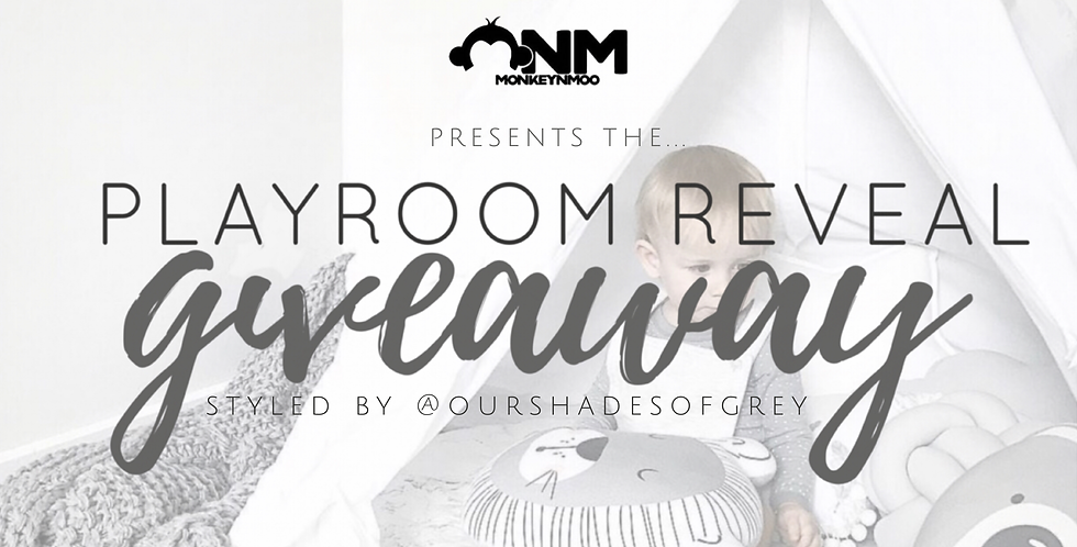 Scandi Playroom Reveal Loop Giveaway