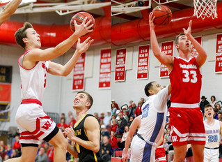 Davidson, Hallstrom Named To All-NCAC Basketball Team