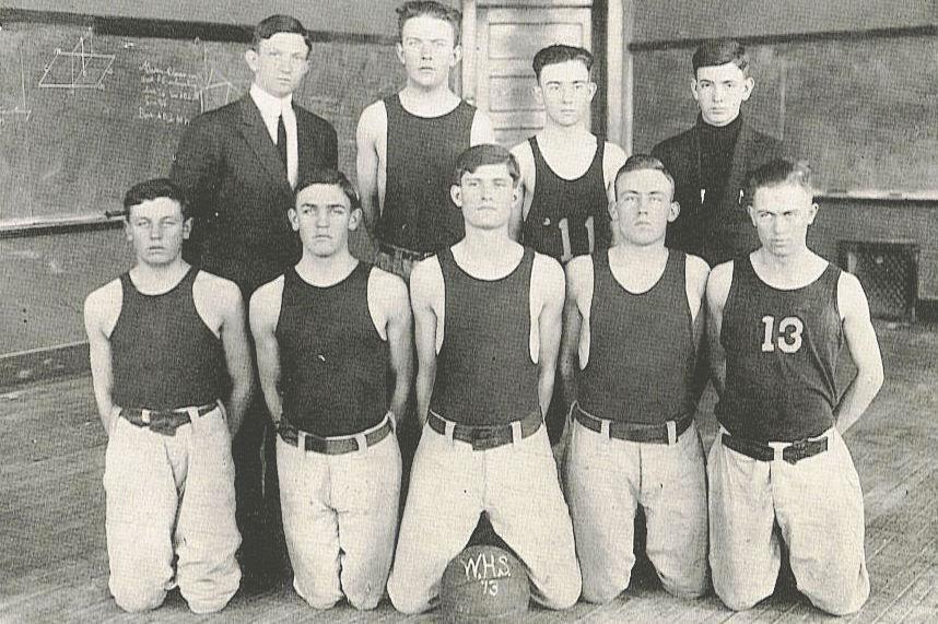 Wingate 1913 team