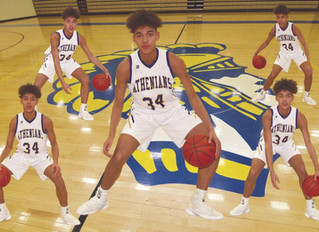 All Over The Court — Crawfordsville's Jesse Johnson-Hall stands out in Athenians' record-breaking se