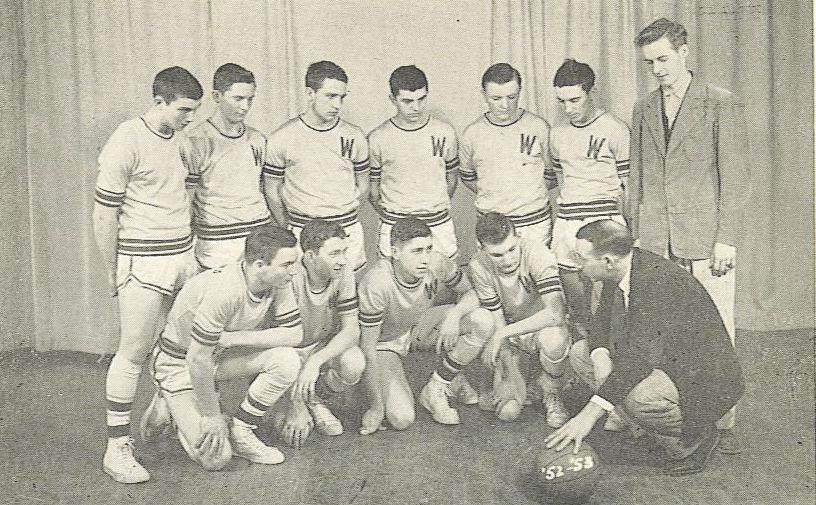 Wingate Basketball 1953