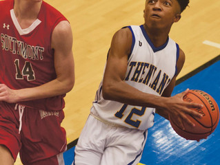 Hot shooting leads Athenians past Mounties