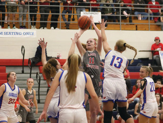 Eagles pull away from Mounties late