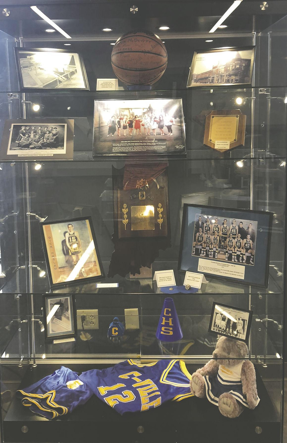 Display case in  Fusion 54 building