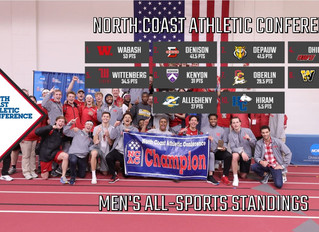 Wabash Extends Lead In NCAC Men's All-Sports Standings