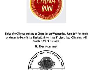 Dine to Donate at China Inn