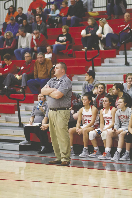 Southmont coach Dustin Oakley
