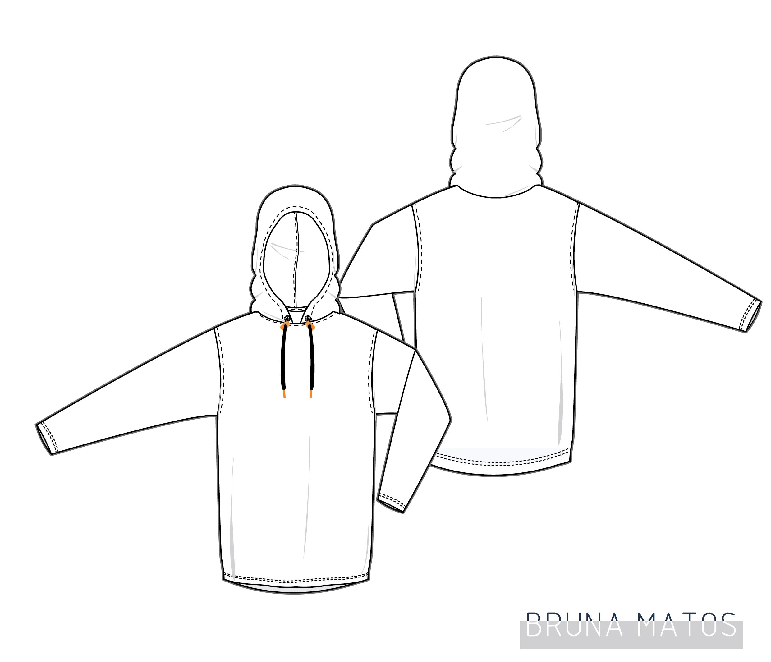 Sports hoodie