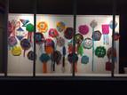 Kites on display at Gallery 456