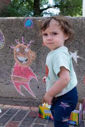 Chalk Art Saturdays