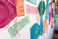 Messages on the kites