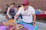 Amanda and Max painting art panels