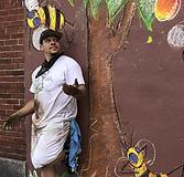 Max Pro with chalk art