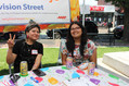 Team leaders from Neighborways greet volunteers.