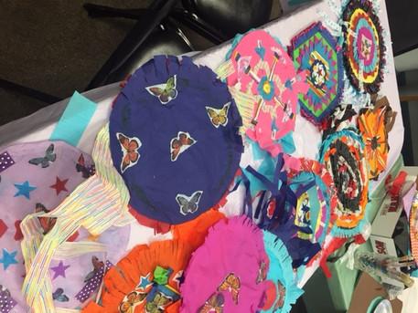 kites at Chelsea Senior Center