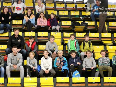 Další fotografie ze dvou sobotních zápasů na NF chlapci U12