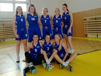 U17 dívky - 2 ligová vítězství z pražských palubovek