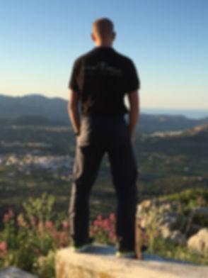 Kurt Caboor in de Costa Blanca