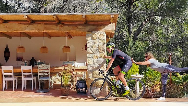 Mindful Cycling and Yoga retreat