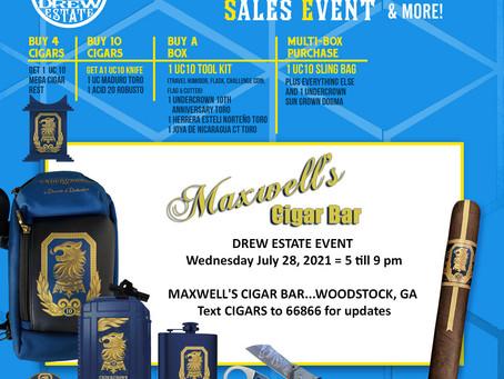 Drew Estate Cigar Event Giveaway Details