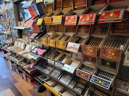 Maxwell's Cigar Bar Humidor