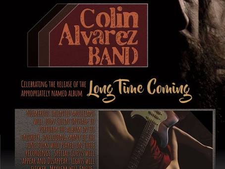 Colin Alvarez Release Party July 23 - 24, 2021
