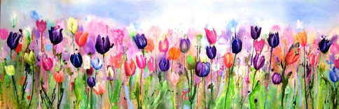 Tiptoe Through The Tulips - SOLD