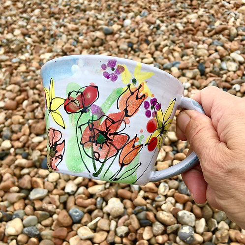 Summer Floral cup