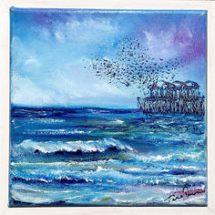 Pier Poetry _ SOLD