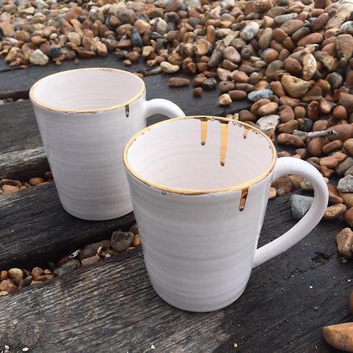 Creamware Mugs