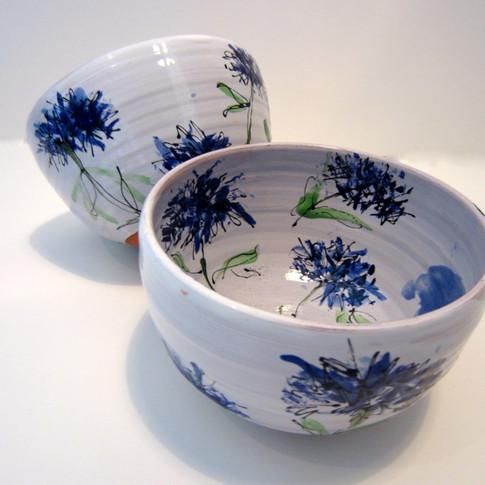 Cornflower Bowls