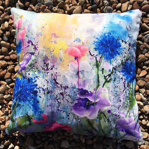 'Come What May' cushion cover