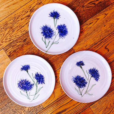 Cornflower Plates